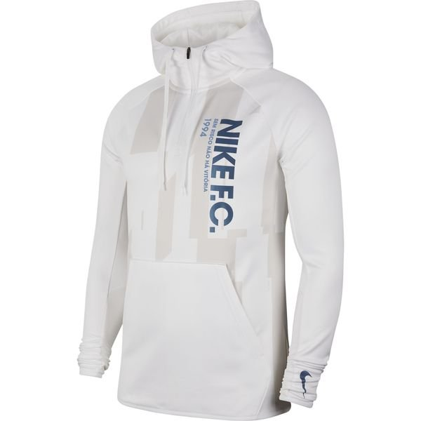 best service 7f3ff 25a49 Nike F.C. Hoodie Pullover - White