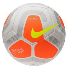 Nike Fußball Pitch Premier League - Weiß/Orange/Grau/Neon