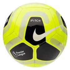 Nike Fotboll Pitch Premier League - Neon/Svart/Grå/Vit