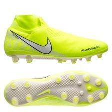 Nike Phantom Vision Elite DF AG-PRO - Neon/Hvid