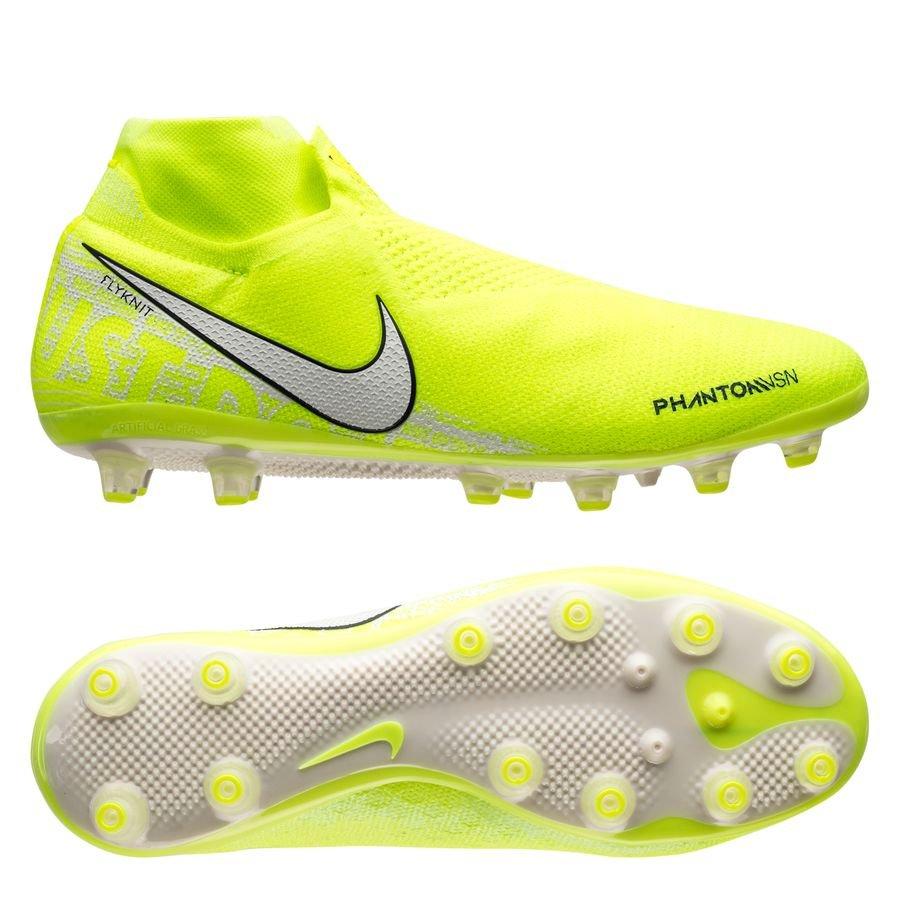 Nike Phantom Vision Elite DF AG-PRO New Lights - Neon Hvid