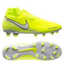 Nike Phantom Vision Pro DF FG New Lights - Neon/Hvid