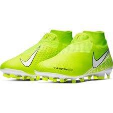 Nike Phantom Vision Pro DF FG - Neon/Hvid