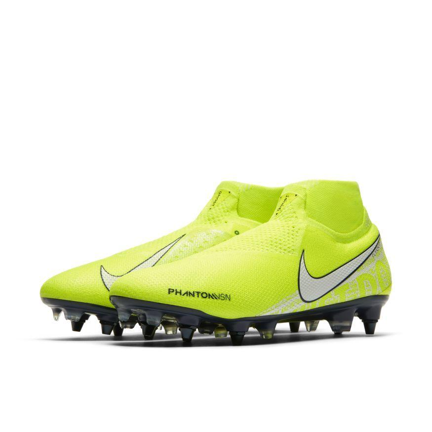 Nike Phantom Vision Elite DF SG-PRO Anti-Clog - Neon/Hvid