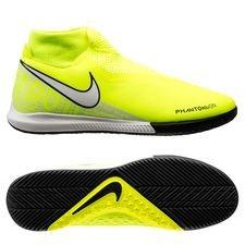 Nike Phantom Vision Academy DF IC - Neon/Hvid