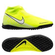 Nike Phantom Vision Academy DF TF New Lights - Neon/Hvid