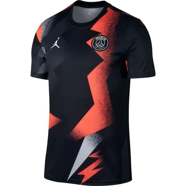 new york eaf7c 78333 Paris Saint Germain Training T-Shirt Jordan x PSG - Black/Red LIMITED  EDITION
