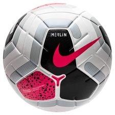 Nike Fotboll Merlin Premier League - Vit/Svart/Grå/Rosa