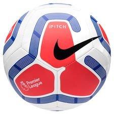Nike Fotboll Pitch Premier League - Vit/Navy/Silver