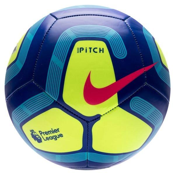Nike Football Pitch Premier League , Dark Blue/Volt/Light Blue/Racer Pink