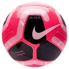 Nike Fotboll Pitch Premier League - Rosa/Svart/Vit/Silver