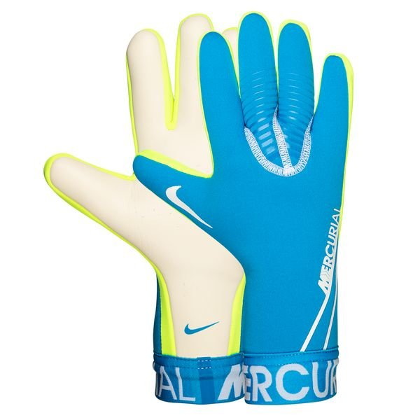 newest caeed d85bc Nike Goalkeeper Gloves Mercurial Touch Victory New Lights - Blue Hero/White