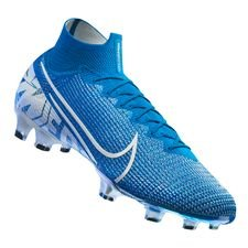 Nike Mercurial Superfly 7 Elite FG New Lights - Bleu Foncé/Blanc