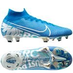 Nike Mercurial Superfly 7 Elite FG New Lights - Sininen/Valkoinen