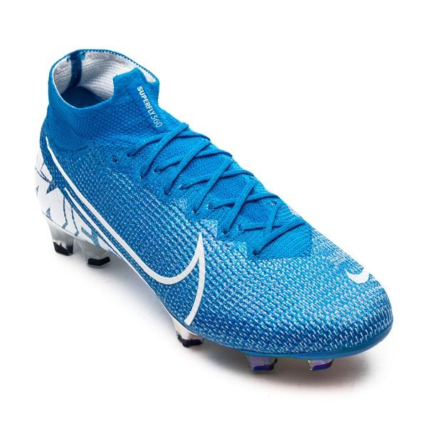 first rate 58ea8 1597d Nike Mercurial Superfly 7 Elite FG New Lights - Blue Hero/White