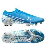 Nike Mercurial Vapor 13 Elite FG New Lights - Bleu Foncé/Blanc