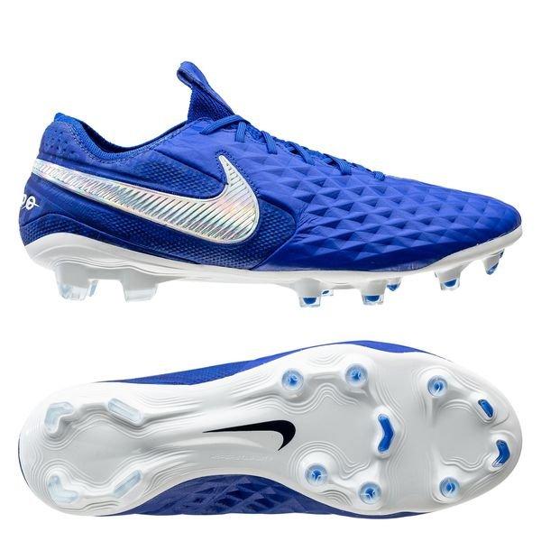 Nike Tiempo Legend 8 Elite FG New Lights BleuBlanc