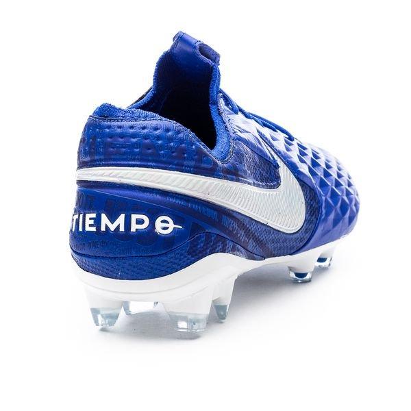 Nike Tiempo Legend 8 Elite FG New Lights - Blauw/Wit