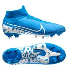 Nike Mercurial Superfly 7 Pro AG-PRO New Lights - Blauw/Wit/Navy