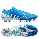Nike Mercurial Vapor 13 Elite AG-PRO New Lights - Bleu Foncé/Blanc