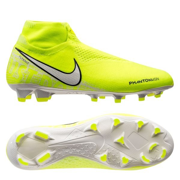 chaussures nike foot jaunefluo