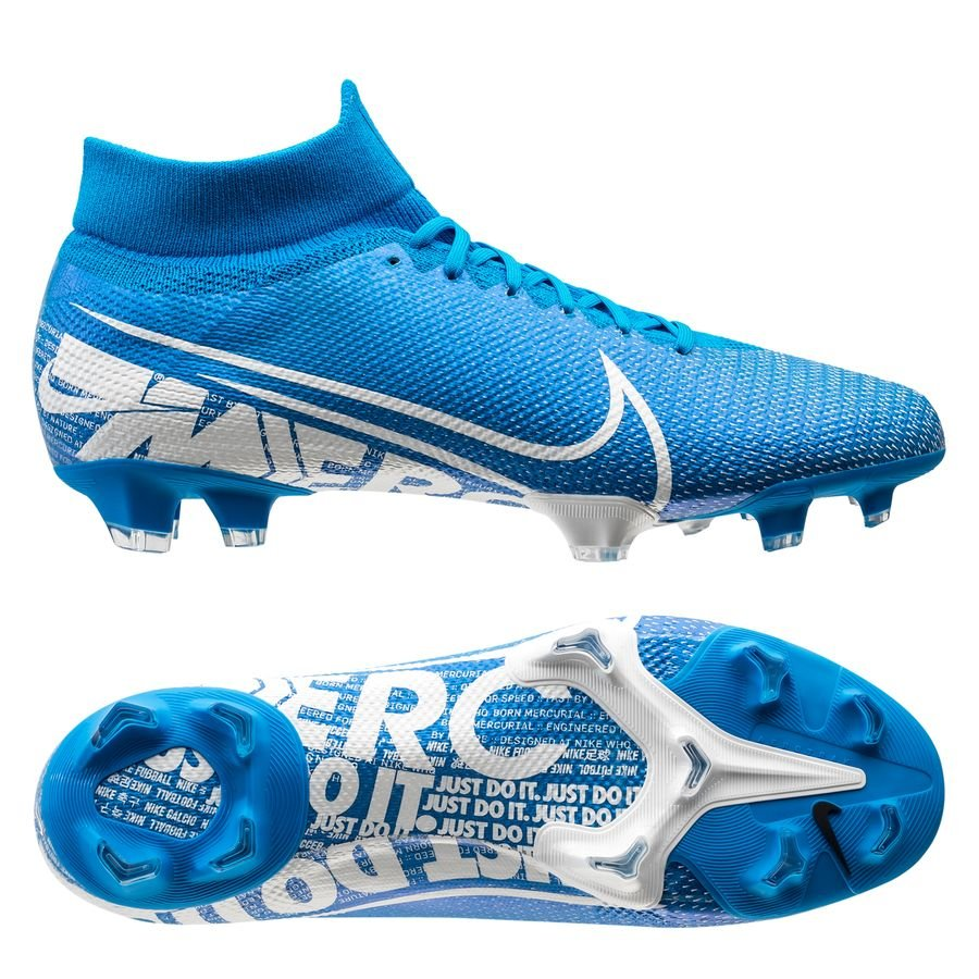 Nike Mercurial Superfly 7 Pro FG New Lights - Blå/Hvid/Navy