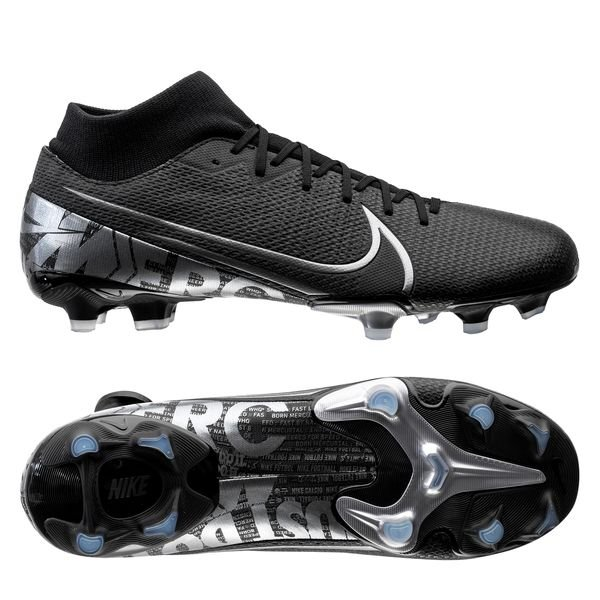 new arrival 44739 1b58c Nike Mercurial Superfly 7 Academy MG Under The Radar - Black/Metallic Cool  Grey