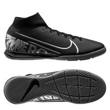 Nike Mercurial Superfly 7 Academy IC - Sort/Grå