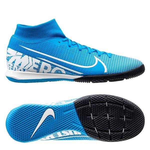 sklep dyskontowy Kup online super tanie Nike Mercurial Superfly 7 Academy IC New Lights - Blue Hero/White/Obsidian