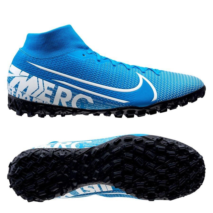 Nike Mercurial Superfly 7 Academy TF New Lights - Blå/Hvid/Navy