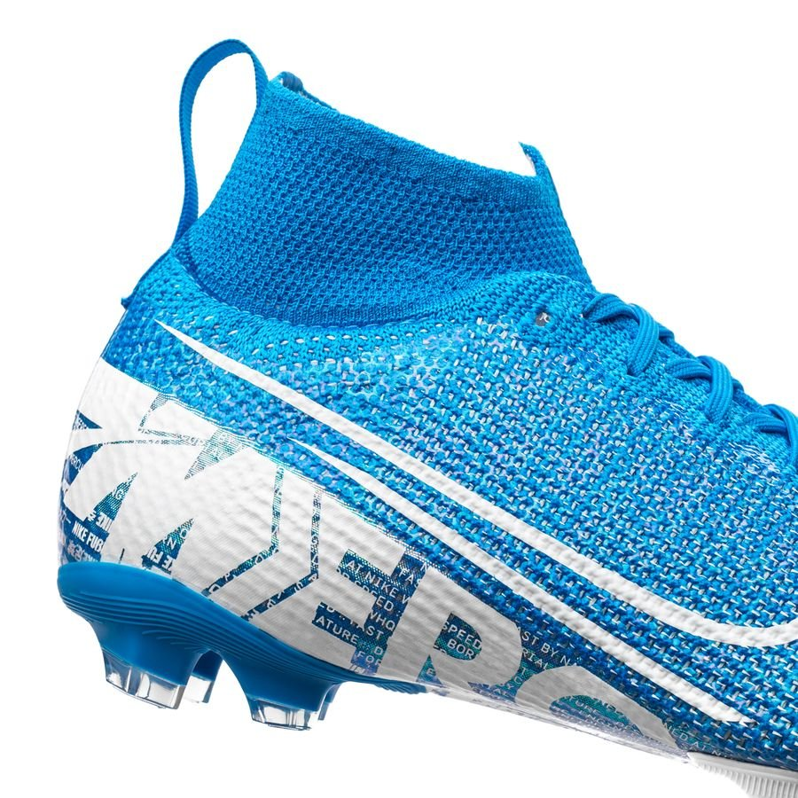 Nike Mercurial Superfly 7 Elite FG New Lights Bleu FoncéBlanc Enfant