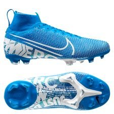 Nike Mercurial Superfly 7 Elite FG New Lights - Blå/Vit Barn