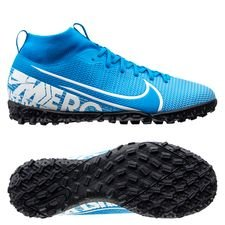 Nike Mercurial Superfly 7 Academy TF New Lights - Blå/Vit/Navy Barn
