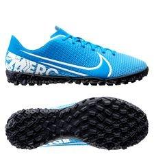 Nike Mercurial Vapor 13 Academy TF New Lights - Blau/Weiß/Navy Kinder