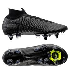 Nike Mercurial Superfly 7 Elite SG-PRO Anti-Clog Under The Radar - Svart/Grå