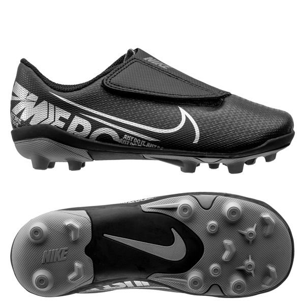 simpatía ritmo en casa  Nike Mercurial Vapor 13 Club Velcro MG Under The Radar - Black/Metallic  Cool Grey Kids | www.unisportstore.com