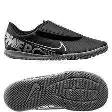 Nike Mercurial Vapor 13 Club Velcro IC Under The Radar - Schwarz/Grau Kinder