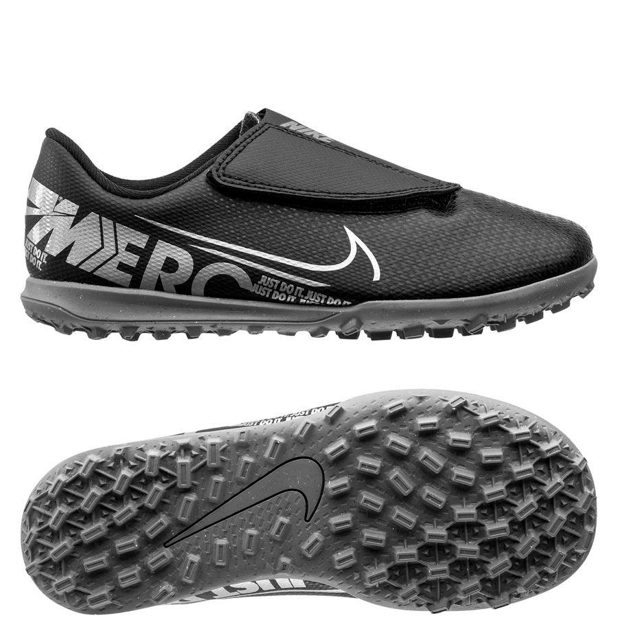 Funeral Parcial Remisión  Nike Mercurial Vapor 13 Club Velcro TF Under The Radar - Black ...
