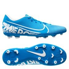 Nike Mercurial Vapor 13 Club MG New Lights - Blå/Hvid/Navy