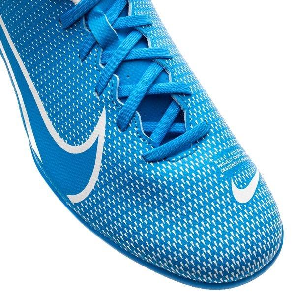 Nike Mercurial Vapor 13 Club MG New Lights Bleu FoncéBlancBleu Foncé