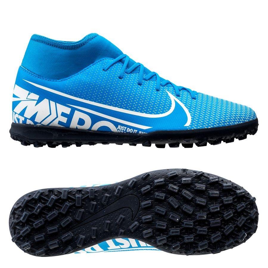 Nike Mercurial Superfly 7 Club TF New Lights - Blå/Hvid/Navy