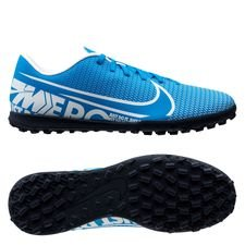 Nike Mercurial Vapor 13 Club TF New Lights - Blå/Vit/Navy