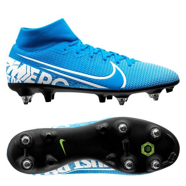 Nike Mercurial Superfly 7 Pro FG New Lights BlauWeißNavy