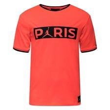 Nike Replica T-Shirt Jordan x PSG - Röd/Svart LIMITED EDITION