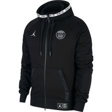 Nike Luvtröja Jordan x PSG - Svart LIMITED EDITION
