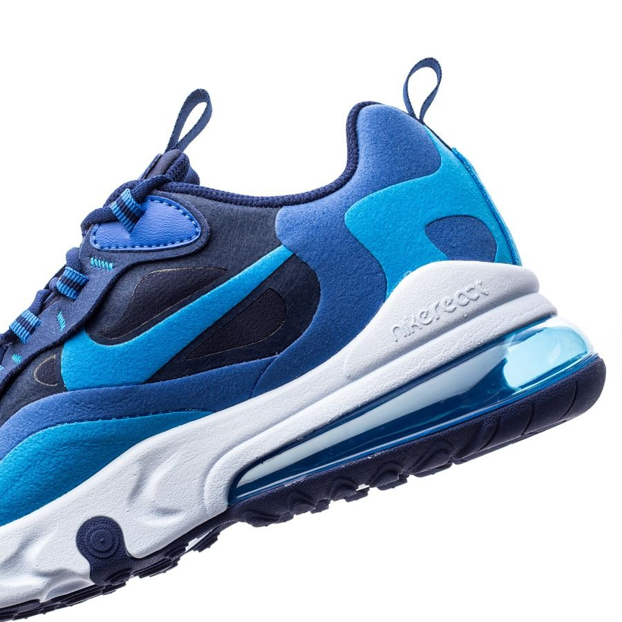 Nike Air Max 270 React NavyBlå Barn
