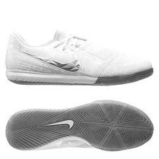 Nike Phantom Venom Zoom Pro IC - Hvid/Krom/Sølv