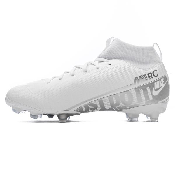 uk cheap sale new lower prices classic fit Nike Mercurial Superfly 7 Academy MG Nuovo - Blanc/Chrome/Argenté Enfant