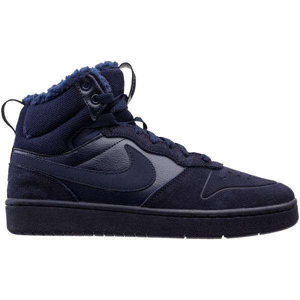 Nike Court Borough Mid 2 - Blauw Kinderen
