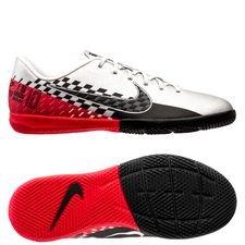 Nike Mercurial Vapor 13 Academy IC NJR Speed Freak - Krom/Svart/Röd Barn